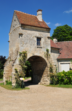 aux: France, the picturesque village of  Saint Jean aux Bois in Oise