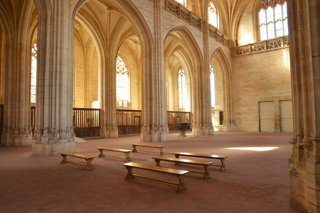en: France, the Brou monastery of Bourg en Bresse in Ain