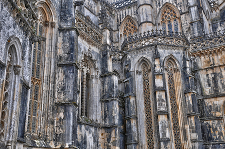 the historical: the historical monastery of Batalha in Portugal