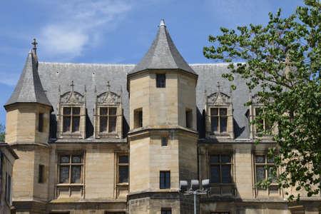 pontoise: Ile de France, the picturesque Tavet Delacour museum in the city of Pontoise