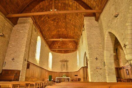 ile de france: Ile de France, the picturesque church of Thoiry