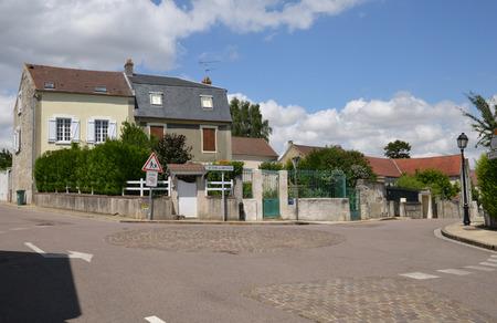 Ile de France, the picturesque village of Drocourt