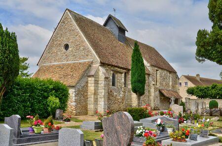 ile de france: Ile de France, the picturesque village of Hargeville