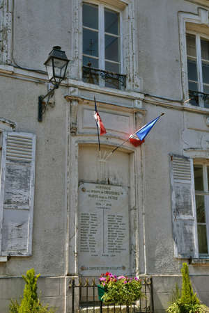 townhall: Ile de France, the picturesque city hall of Crespieres