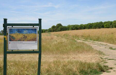 Ile de France, the picturesque landscape of Auvers sur Oise