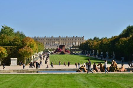 versailles: Ile de France,  the parc of Versailles Palace