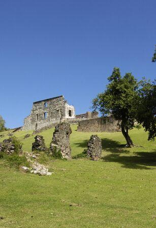 France, le château Dubuc pittoresque en Martinique
