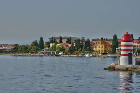 the balkan: Croatia, the picturesque city of Zadar in Balkan Stock Photo