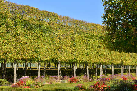 marie: Ile de France, the Marie Antoinette estate in the parc of Versailles Palace Editorial