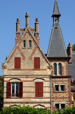 les: Ile de France, Yvelines, Bouvaist manor in Les Mureaux