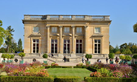 petit:  the Petit Trianon in the parc of Versailles Palace