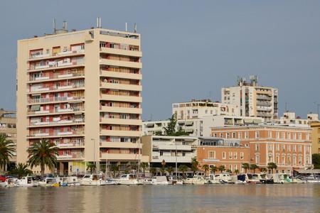 the balkan: Croatia, the picturesque city of Zadar in Balkan Editorial