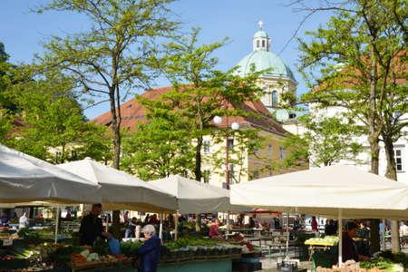 ljubljana: Slovenia, the picturesque and historical city of Ljubljana