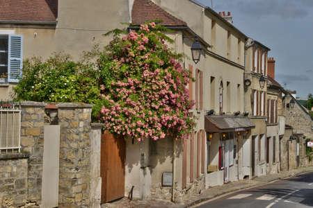ile de france: Ile de France, the picturesque city of Jouy le Moutier