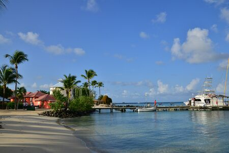 martinique: Martinique, the picturesque seaside of Sainte Anne