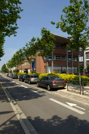 incubator: Ile de France, a business incubator in the city of Les Mureaux Editorial