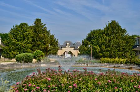 ile de france: Ile de France, the picturesque village of Ecquevilly