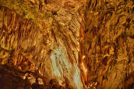touristy: Slovenia, the picturesque and historical cave of Postojna