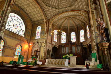 martinique: Martinique, the picturesque cathedral of Fort de France Editorial