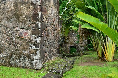 les: Martinique, the picturesque old sugar refinery of Les Les trois Ilets
