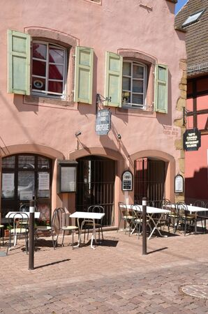haut rhin: France, the picturesque city of Turckheim in alsace Editorial