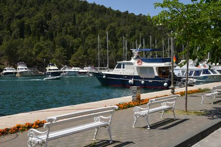 dalmatia: Croatia, the picturesque village of Skradin in Dalmatia Editorial