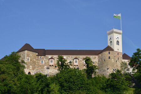 ljubljana: Slovenia, the picturesque and historical catleof Ljubljana