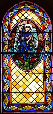 ile de france: Ile de France, the picturesque church of Villennes sur Seine Editorial