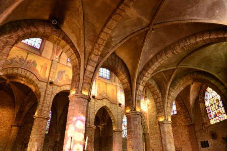 ile de france: Ile de France, the picturesque church of Chevreuse