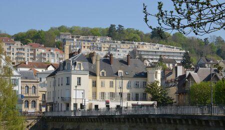 ile de france: Ile de France, the picturesque city of Meulan