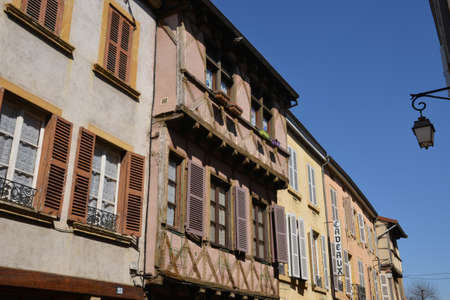 Alpes: France, the picturesque city of Charlieu in Rhone Alpes