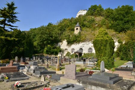 ile de france: Ile de France, the picturesque church of Haute Isle
