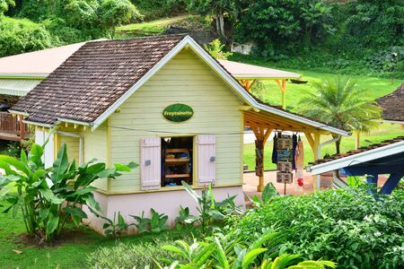 indies: Martinique, the banana museum of Sainte Marie in West Indies