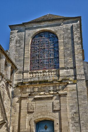 bourgogne: France, the picturesque Notre Dame church of La Charite sur Loire in Bourgogne