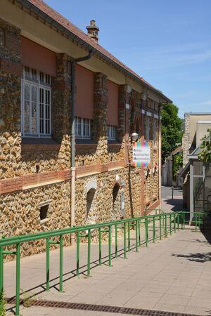 ile de france: Ile de France, the picturesque city of Vernouillet