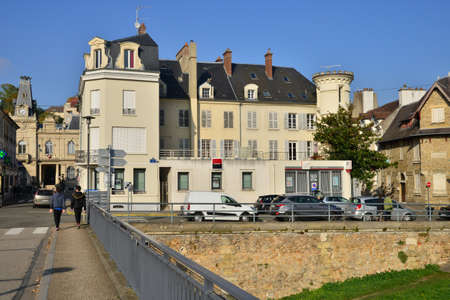 en: Ile de France, the picturesque city of Meulan en Yvelines