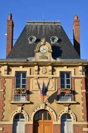 city hall: Ile de France, the picturesque city hall of  Septeuil