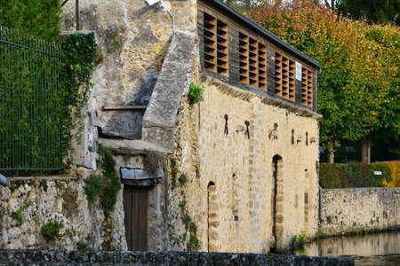 ile de france: Ile de France, the picturesque village of Chevreuse