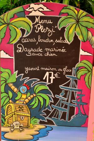 martinique: Martinique, the picturesque city of Sainte Anne in West Indies