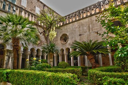 franciscan: Croatia, the old and picturesque franciscan monastery of Dubrovnik Editorial