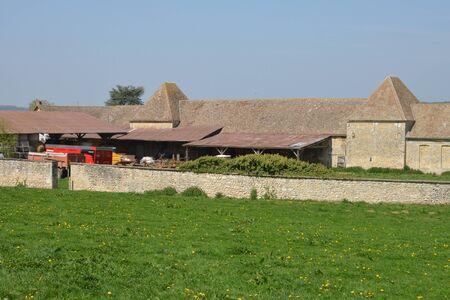 ile de france: Ile de France, the picturesque farm of Buhy