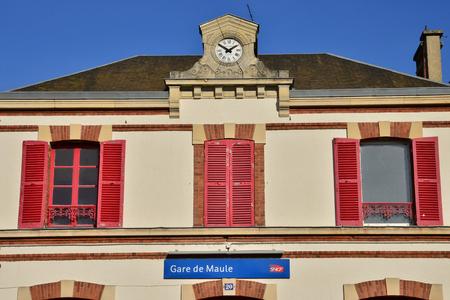 ile de france: Ile de France, the picturesque station of Maule