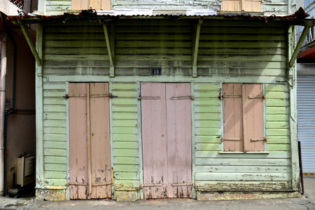 robert: Martinique, the picturesque city of Le Robert in West Indies