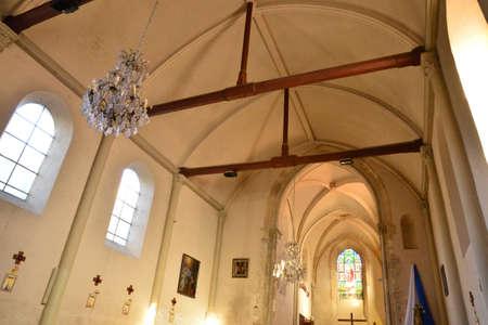 ile de france: Ile de France, the picturesque church of  Septeuil