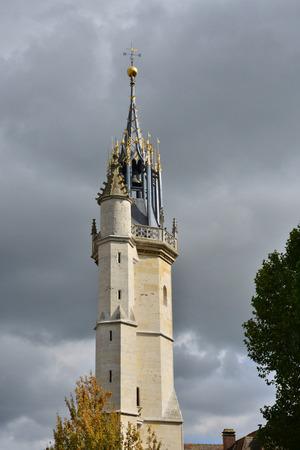 Haute Normandie, the picturesque belfry of Evreux
