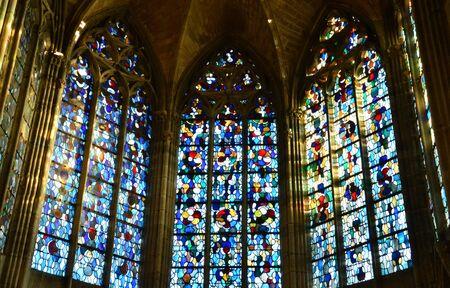 collegiate: Ile de France, the picturesque collegiate church of Mantes la Jolie Editorial