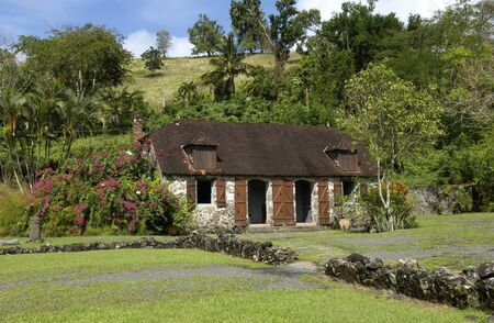 martinique: France, La Pagerie museum in Les Trois Ilets in Martinique