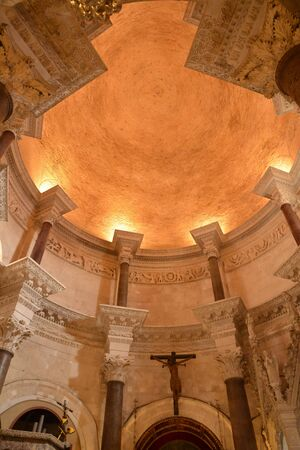 cathedrale: Croatia; the picturesque and historical cathedrale of Split in Balkan