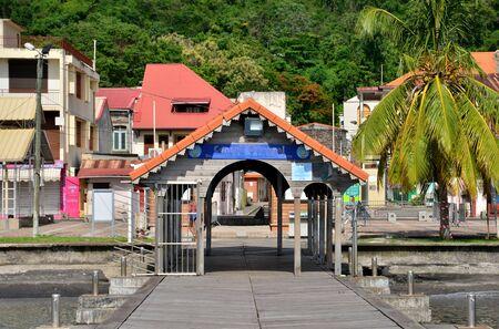 martinique: Martinique, the picturesque city of Saint Pierre in West Indies