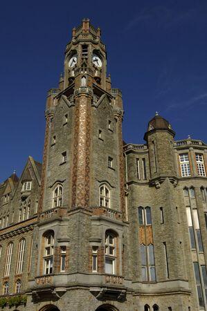 nord: France, the city hall of Le Touquet Paris Plage in Nord Pas de Calais